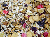 A very healthy natural food, muesli — Stock Photo