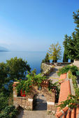 Ohrid lake — Stock Photo