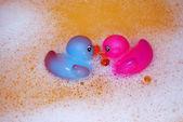 Bath toys — Stock Photo