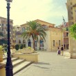 Kerkyra Square - Stock Photo