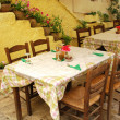 Stock Photo: Restaurant in Corfu