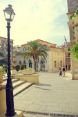 Kerkyra Square — Stock Photo
