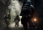 Görevdeki askerler — Stok fotoğraf