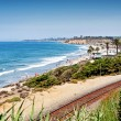 Del Mar Beach California — Stock Photo