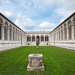 Cemetery at Cathedral Square in Pisa, Italy — Stock Photo #10970408
