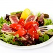 Seared Tuna Green Salad — Stock Photo #10970495