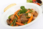 Beef Stew with Vegetables — Stock Photo