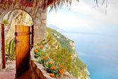 Door to Paradise on the Sea — Stock Photo