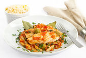 Tilapia Veracruz — Stock Photo