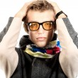 Royalty-Free Stock Photo: Yellow glasses
