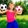 Balls girl — Stock Photo #10768587