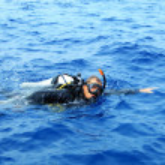 Scuba diver — Stock Photo #10768810