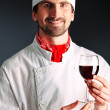 Royalty-Free Stock Photo: Wine man