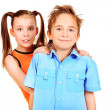 Stock Photo: Emotion children