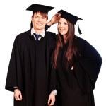 zwei Absolventen — Stockfoto