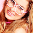 Spectacles pink — Stock Photo