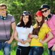 Stockfoto: Friends outdoor