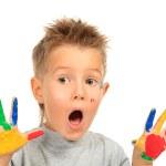 Shocked boy — Stock Photo #10952631