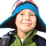 radosny chłopiec — Zdjęcie stockowe