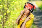 Música do parque — Foto Stock