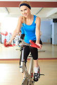Egzersiz bisiklet — Stok fotoğraf