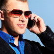 Call man — Stock Photo #10972972