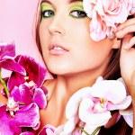 Sexy flowers — Stock Photo