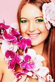 Orchidee — Stockfoto