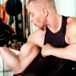 Gym man — Stockfoto