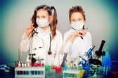 Clever children — Stock Photo
