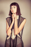 Charming dress — Stock fotografie