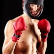 Boxing sport - Stok fotoraf