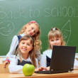 Education girls - Stock Photo