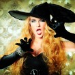 Angry witch — Stock Photo #11143884