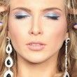 Closeup makeup — Stockfoto