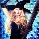 Elegant witch — Stock Photo