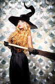 Witch broom — Foto Stock