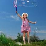stor bubbla — Stockfoto