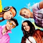 Fun teenagers — Stock Photo