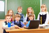 Sınıf arkadaşları — Stok fotoğraf