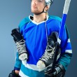 Hockey stick — Stock Photo