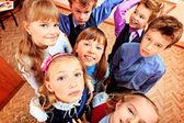 School faces — Stock Photo