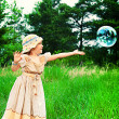 Catching bubbles — Stock Photo #11509597