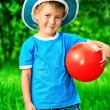 Boy and ball — Stock Photo #11686440