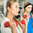 Dumbbells — Stock Photo #11686548