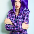 Unhappy teenager — Stock Photo