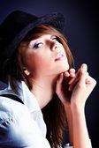 Model hat — Stock Photo