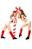 Cheerleaders — Stock Photo