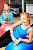 Pilates di gruppo — Foto Stock