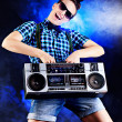 Royalty-Free Stock Photo: Boombox